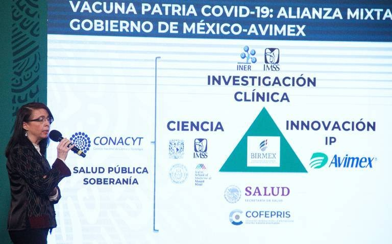 Vacuna Patria usa tecnología desarrollada en Nueva York, Estados Unidos
