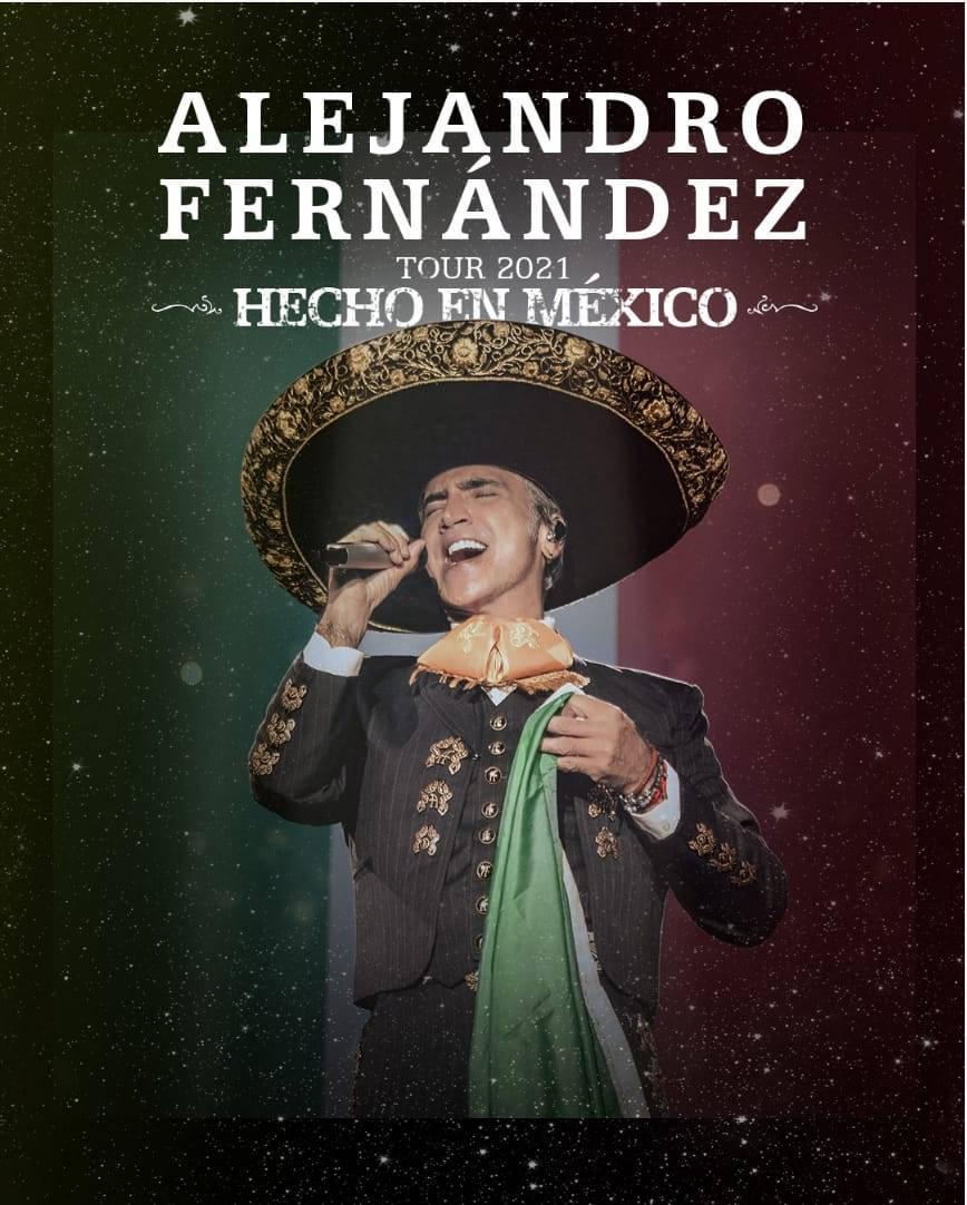"""Alejandro Fernández anuncia su gira """"Hecho en México US TOUR"""""""