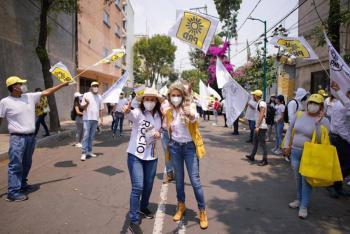"""En VC existe una """"guerra sucia"""" y una elección de Estado, denuncia Rocío Barrera"""