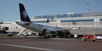 Redirige AICM vuelos hacia aeropuertos alternos por mal tiempo