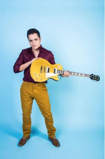 Fehr Rivas será la imagen de icónica marca de guitarras