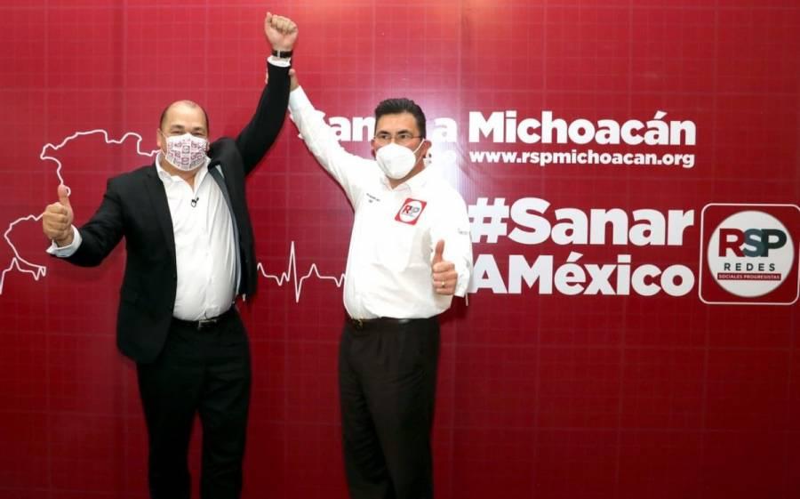 Regresan candidatura a abanderado de Redes Sociales Progresistas por Michoacán