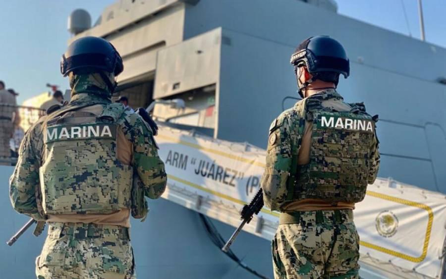 Vinculan a proceso a 30 marinos detenidos por desaparición forzada en Tamaulipas