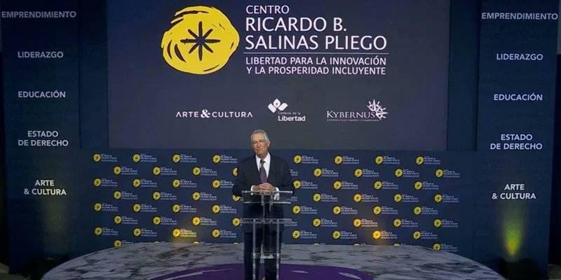 Presentan Centro Ricardo Salinas, como laboratorio de ideas para transformar a México