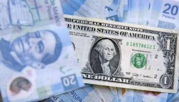 Peso se aprecia debajo de 20 unidades por dólar