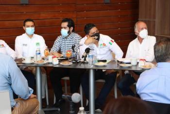 Dialogan Ricardo Gallardo y Alianza Empresarial sobre retos a resolver en próximo sexenio