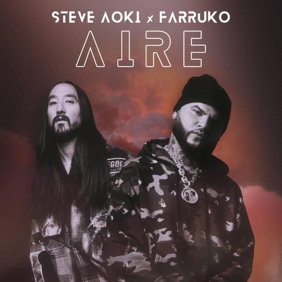 """Steve Aoki y Farruko lanzan """"Aire"""", tema para iniciar el verano"""