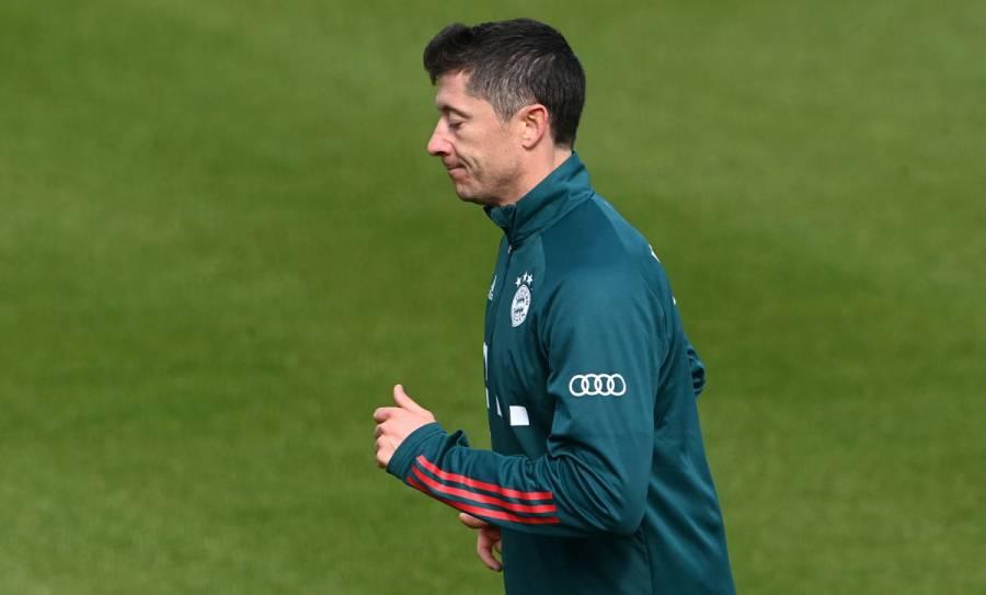Lewandowski, de nuevo baja del Bayern Múnich ante el Wolfsburgo