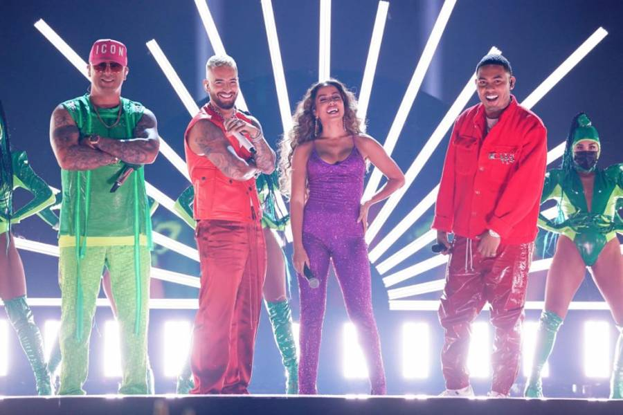 Bad Bunny, Karol G y Nicki Minaj, máximos ganadores de premios Latin AMAs