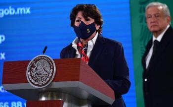 Delfina Gómez: No es obligatorio asistir a clases presenciales
