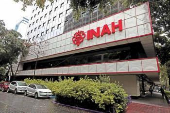 Trabajadores sindicalizados realizan plantón en instalaciones del INAH