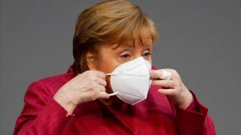 Angela Merkel recibió su primera dosis de vacuna de AstraZeneca