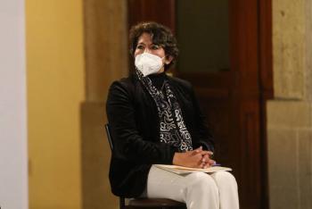 """""""Confidencialidad en rediseño de libros de texto no es una ley mordaza"""", aclara Delfina Gómez"""