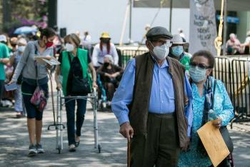 México rompe su propio récord de vacunación: 556 mil dosis, en un nuevo día