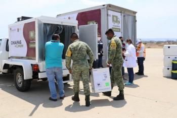 El martes arranca vacunación anti COVID-19 a maestros de Chiapas