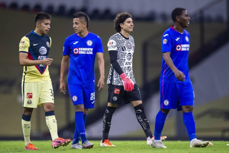 América y Cruz Azul firman el empate en el Clásico Joven