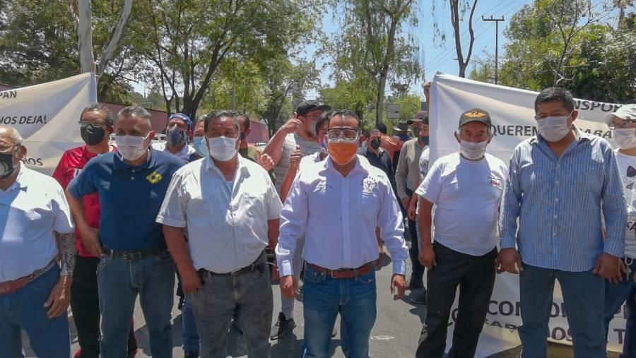 Jorge Pérez exige mejores condiciones para trabajadores del volante