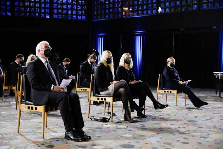 En ceremonia recuerda Alemania a sus 80 mil muertos por la pandemia