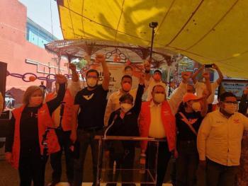 Lideres de otros partidos se suman a Movimiento Ciudadano en Tlalpan