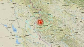 Deja al menos 5 personas heridas sismo de magnitud 5.9 en Irán