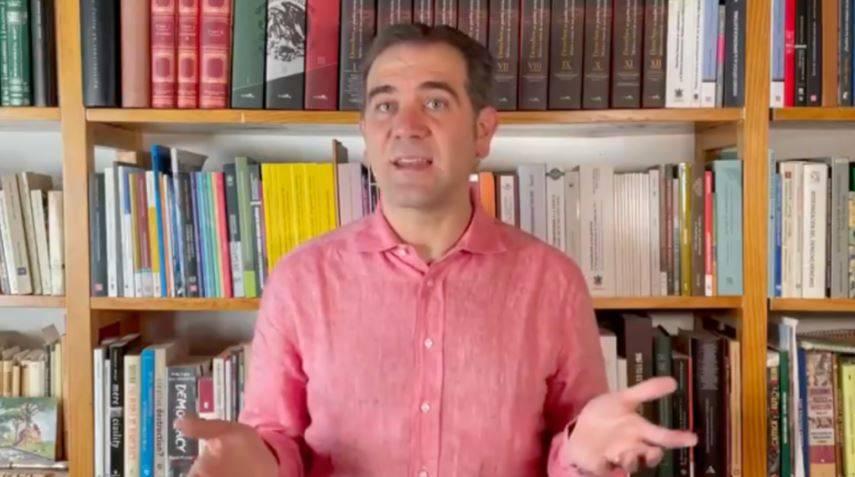 INE aplicará la ley pese a posicionamientos 'estridentes' de partidos: Lorenzo Córdova