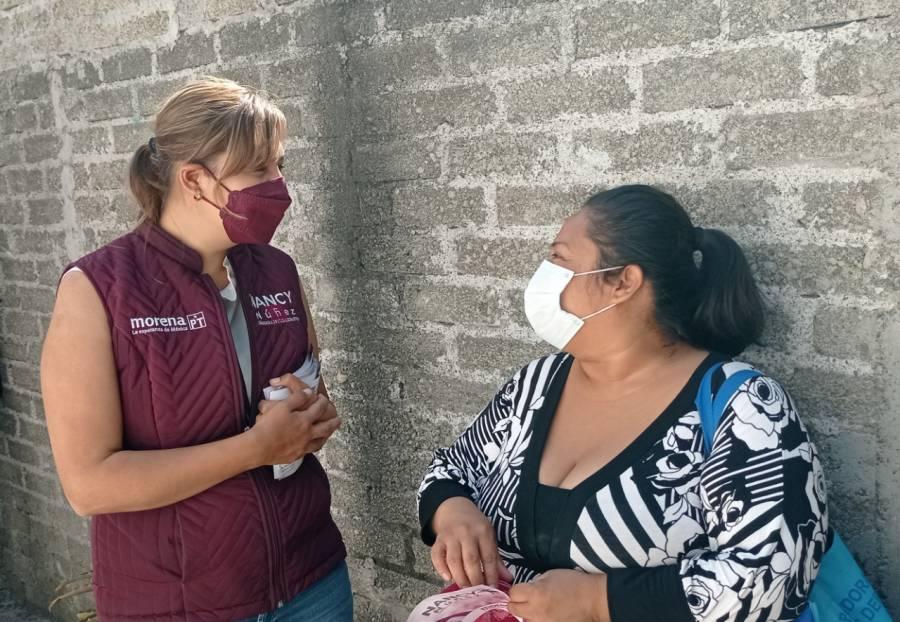 Educación y cultura cívica, indispensables para mejorar nuestras comunidades: Nancy Núñez