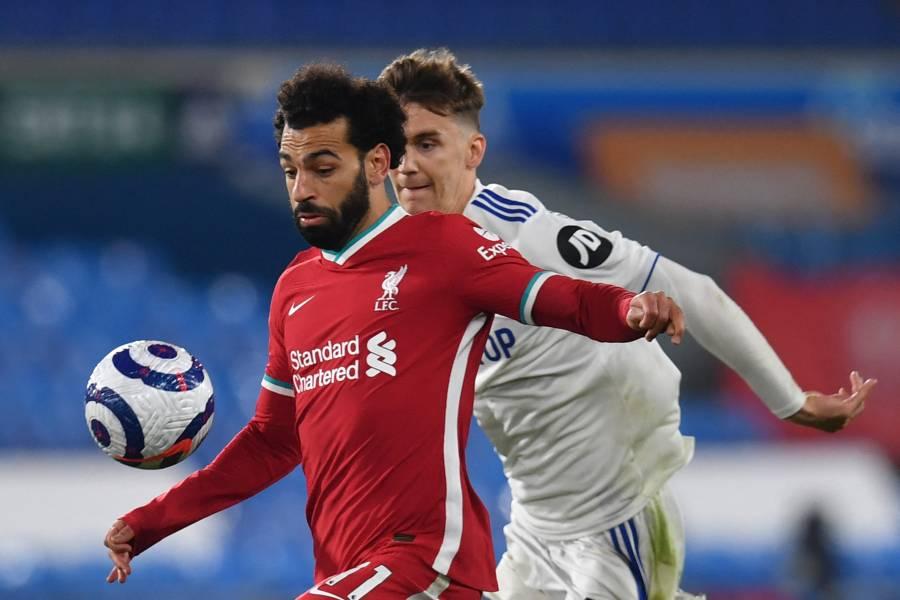 Liverpool empata ante el Leeds y se aleja de los puestos de Champions League