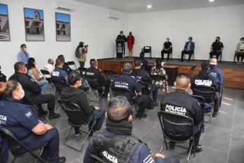 Alcalde de Soledad, pone en marcha curso para policías enfocado en derechos humanos