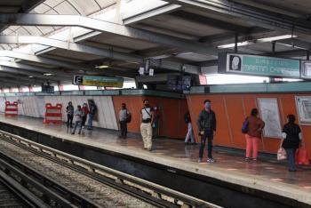 Niño de cinco años cae a vías del Metro Acatitla; sufrió un ataque epiléptico