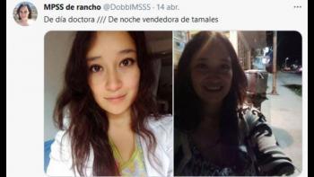 Puebla: doctora de día y atiende un puesto de tamales por la noche, reconocen su esfuerzo