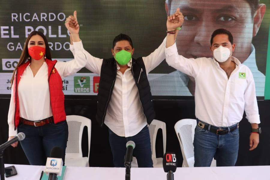 Verde y PT denunciarán intromisión del estado en elección a  gobernador de SLP