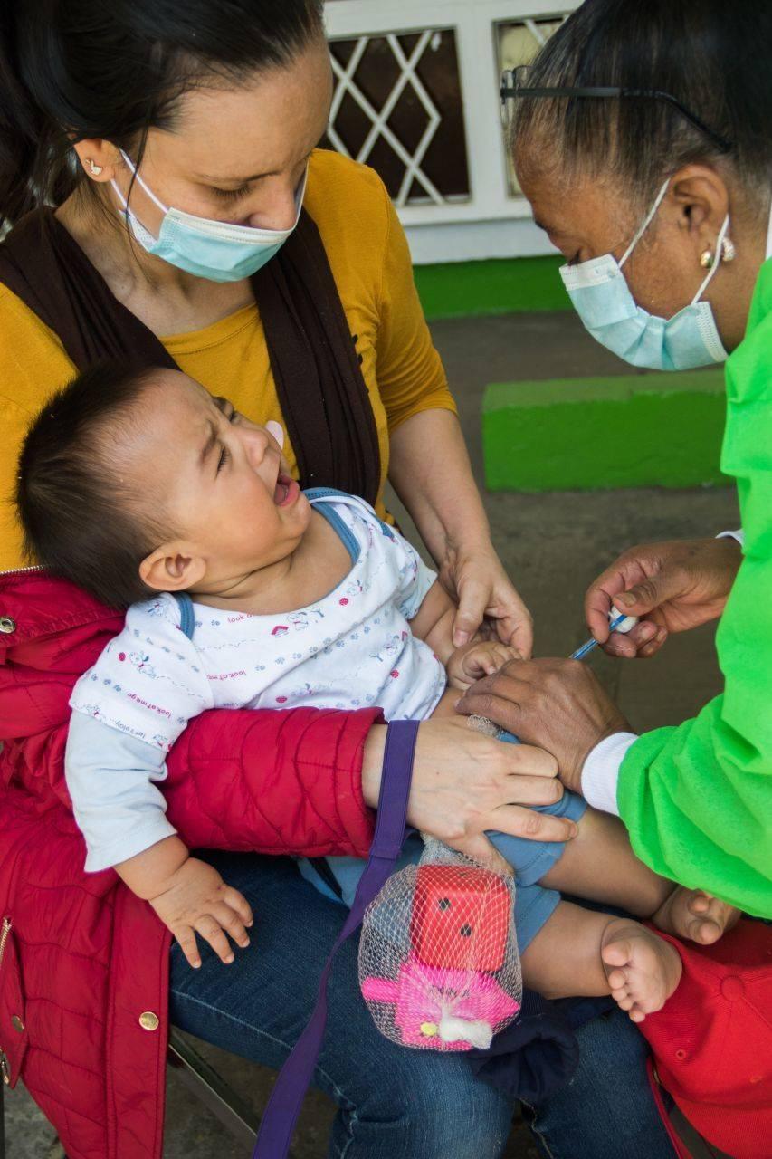 80% de los menores de un año no tienen todas las vacunas