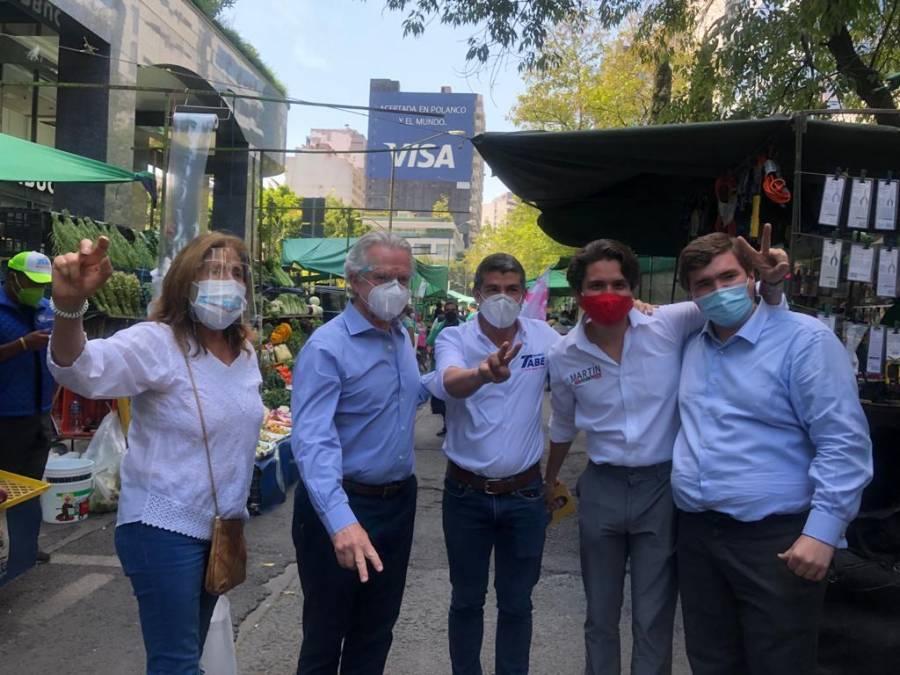 Mauricio Tabe se compromete a apoyar el consumo local en Miguel Hidalgo