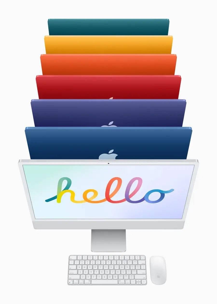 Un retorno a los colores con la nueva iMac