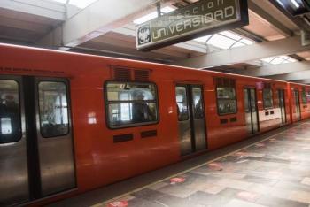 Se descarrila un tren en Línea 3 del Metro en CDMX