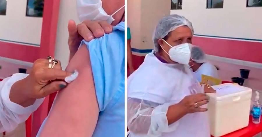 Enfermera aseguró utilizar una misma jeringa 10 veces para vacunar contra covid-19