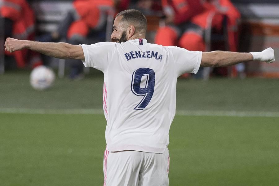 Benzema comanda al Real Madrid al liderato de LaLiga