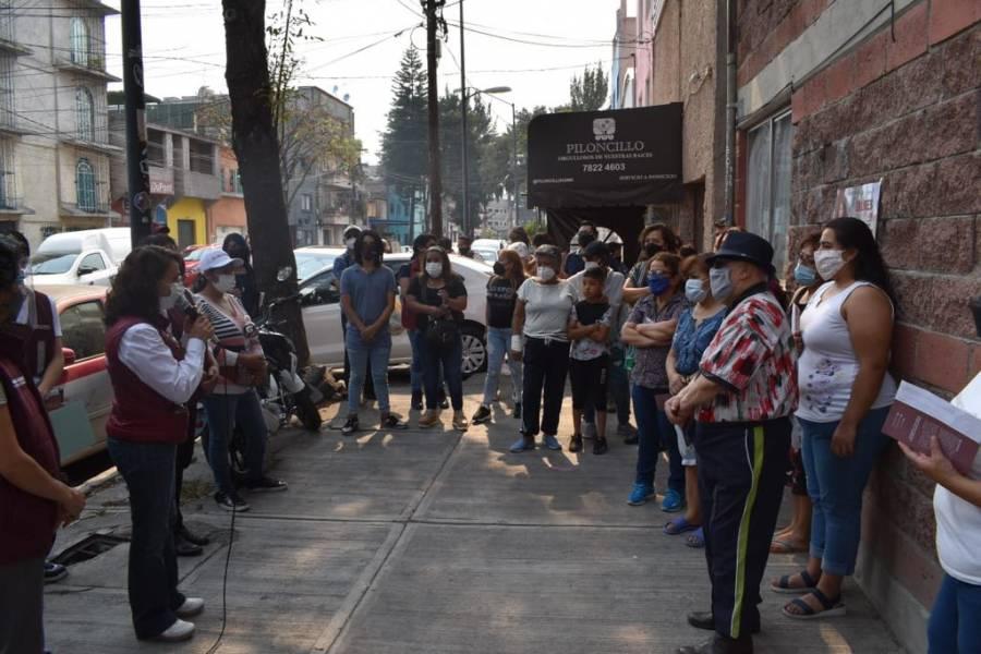 Promete Dolores Padierna que la Cuauhtémoc contará con policía comunitaria