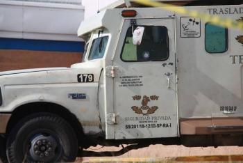 Asaltan camioneta de valores con 11 mdp en la alcaldía Gustavo A. Madero
