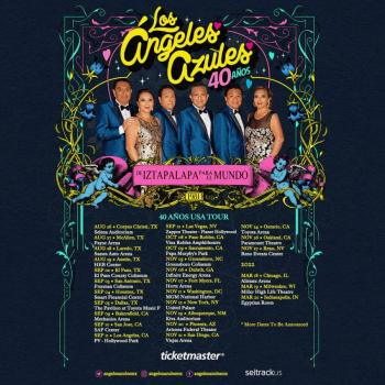 Los Ángeles Azules anuncian gira por EUA en 25 ciudades