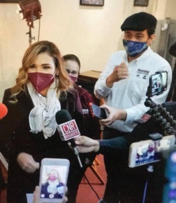 María Del Pilar Ávila se compromete a apoyar a creadores de Baja California