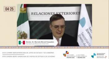 Muy lejos de alcanzar metas mecanismo Covax: Marcelo Ebrard