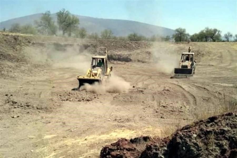 Denuncia INAH construcción ilegal en Oztoyahualco