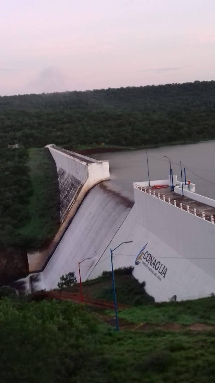 Cuatro presas, debajo de 50% de su capacidad en Zacatecas