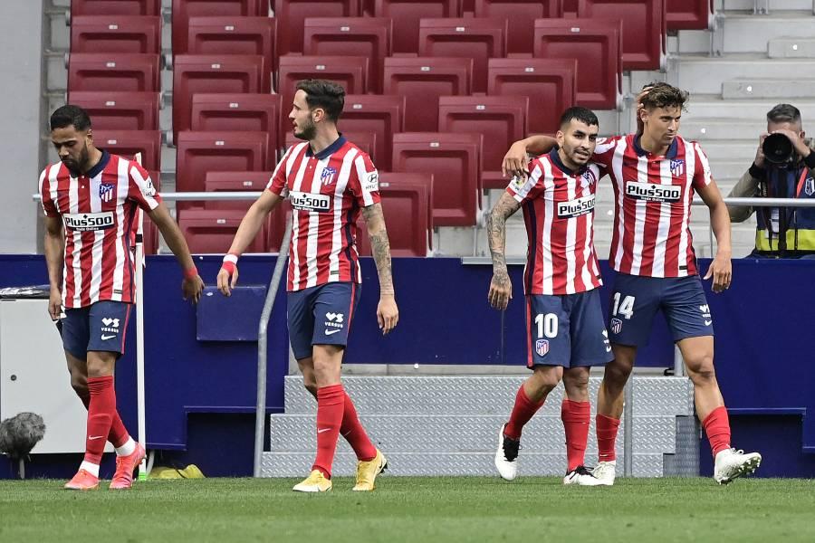 Atlético de Madrid vence al Huesca y recupera el liderato de LaLiga