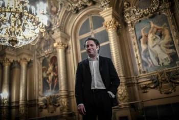 Gustavo Dudamel, venezolano y nuevo director musical de la Ópera de París