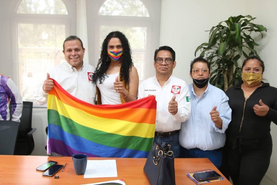 RSP luchará por los derechos de la comunidad LGBTTTI+