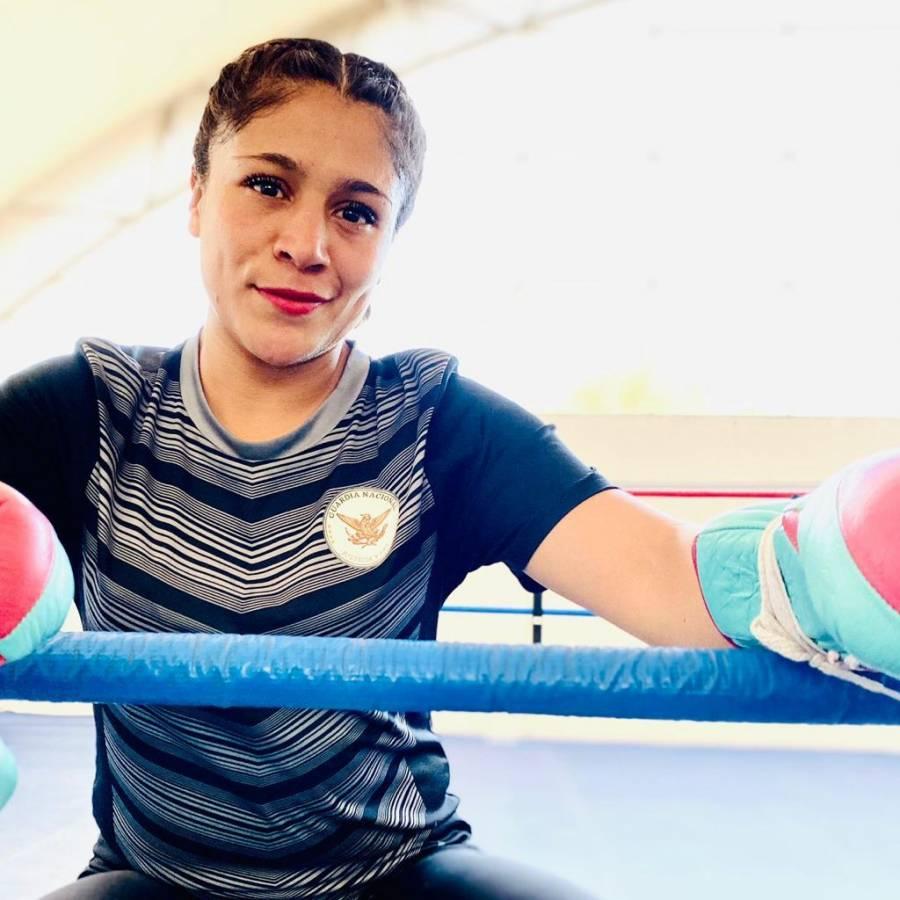 Elemento de la Guardia Nacional se corona campeona mundial de box
