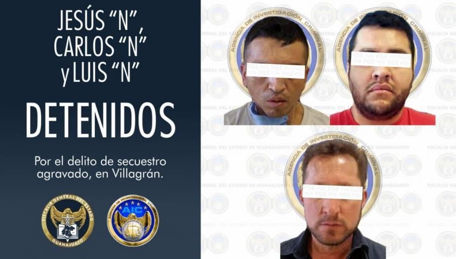 "La Fiscalía de Guanajuato capturó a Jesús Eduardo ""N"", ""El Triste"""