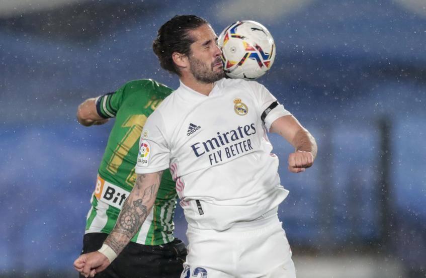 Real Madrid empata ante el Real Betis, y da esperanza al Atlético y Barcelona